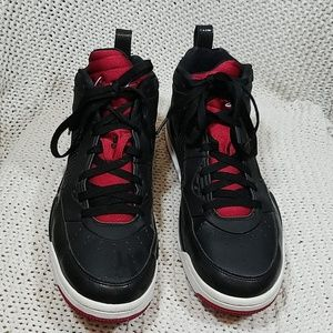 Jordan flight 9.5  Mens Shoes Black Gym Red